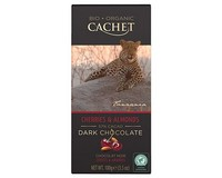 Cachet Organic Dark Chocolate with Cherries and Almonds