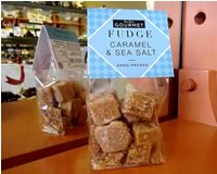 Gourmet Caramel and Sea Salt Fudge 150g