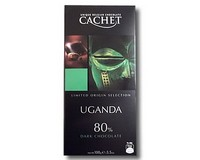 Cachet Limited Origin Selection Uganda 80% dark Chocolate