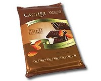 Cachet Dark Chocolate with Almonds 300g