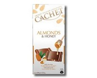 Cachet Almonds & Honey Milk Chocolate 100g