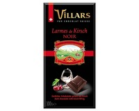 Villars Dark Chocolate with Kirsch (Liqueur Bar)