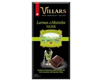 Villars Dark Chocolate Bar with Absinthe (Liqueur Bar)