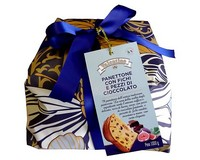 Panettone with Figs and Dark Chocolate 1kg
