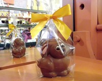 Cute Little Milk Chocolate Sitting Bunny 38g