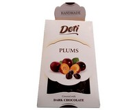 Doti Plums Covered In Dark Chocolate