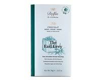 Dolfin Dark chocolate with Earl Grey tea (70g)