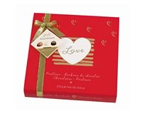 Hamlet Assortment of Belgian Chocolates (Love Box Red) 250g