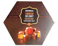 Koska Chocolate Covered Rose and Lemon Turkish Delight 140g