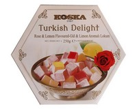 Koska Turkish Delight Rose & Lemon 250g