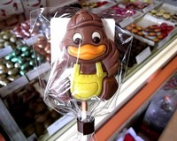 Belfine Milk Chocolate Duck Lollipop (Sammy) 35g