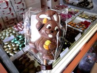 Belfine Milk Chocolate Bunny Lollipop (Pablo) 35g