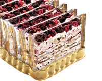 Quaranta soft Italian Nougat (Country Berries) 150g/Slice