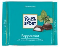Ritter Sport Dark with Peppermint 100g
