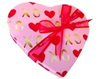 Milk Chocolate Assortments (Heart Boxes)