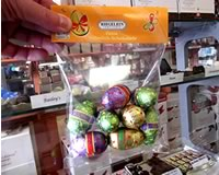 Riegelein Milk Chocolate Eggs in Bag 100g