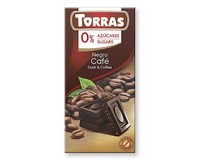 Torras Dark Coffee Chocolate (Sugar Free) 75g