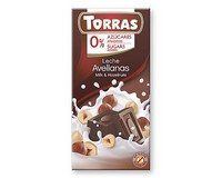 Torras Milk chocolate with Hazelnuts (Sugar Free) 75g