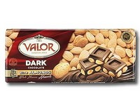 Valor Dark Chocolate with Almonds 250g
