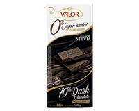Valor (Sugar Free) 70% Dark Chocolate 100g