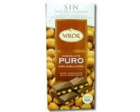 Valor (Sugar Free) Dark Chocolate with Hazelnuts bar 150g