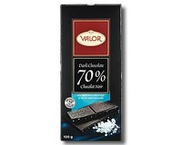 Valor 70% Dark Chocolate with Mediterranean Salt 100g