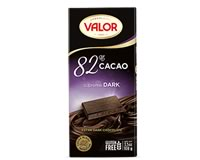 Valor 82% Supreme Dark Chocolate 100g