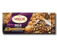 Valor Milk Chocolate with Almonds 100g