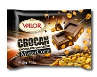 Valor Milk Chocolate with Barbecue Corn (Mister Corn) 100g