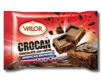 Valor Milk Chocolate with American Brownie 100g
