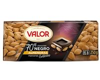 Valor Dark Chocolate 70% with Almonds 250g