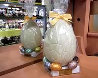 White Chocolate Easter Egg with Assorted Filled Eggs 290g