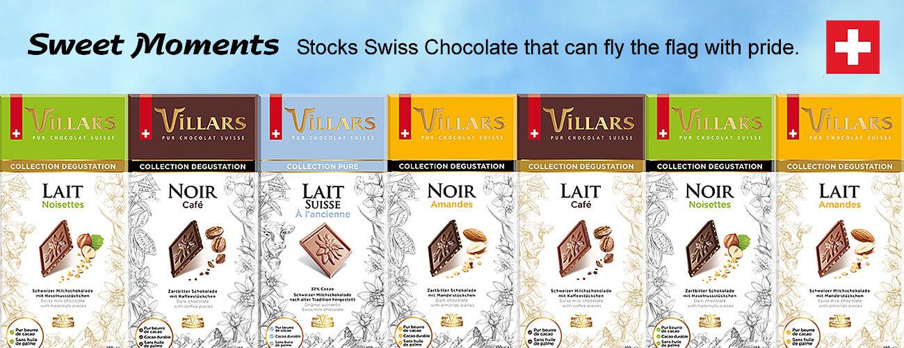 Real Swiss Chocolate from Fribourg Switzerland