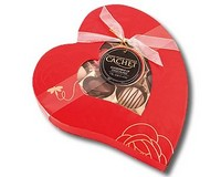 Heart Box of Assorted Chocolates 190g