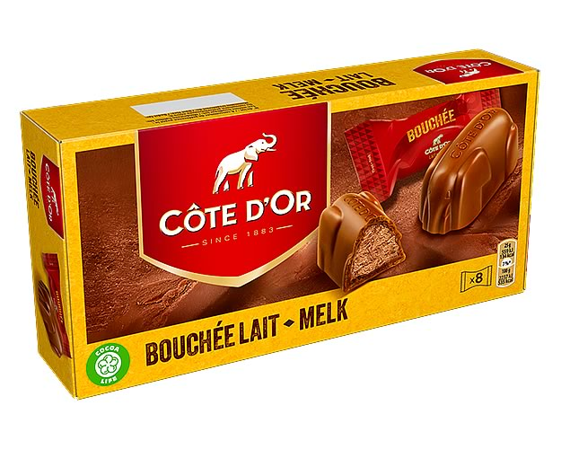 Côte d'Or Bouchée (Box of 8) - Click Image to Close