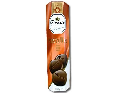 Droste Dark Pastilles 100g - Click Image to Close