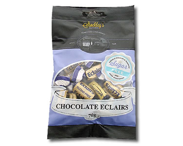Chocolate Eclairs (Sugar Free) 70g - Click Image to Close
