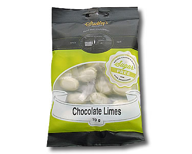 Chocolate Limes (Sugar Free) 70g - Click Image to Close