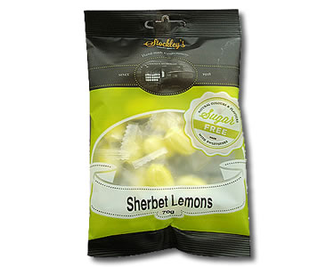 Sherbet Lemons (Sugar Free) 70g - Click Image to Close