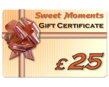Gift Certificate £25 - Click Image to Close