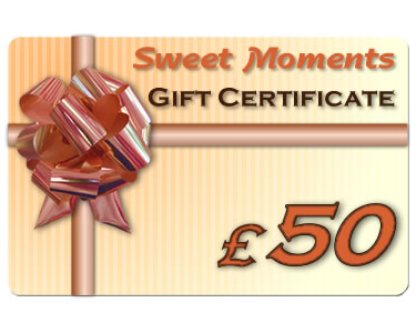 Gift Certificate £50 - Click Image to Close