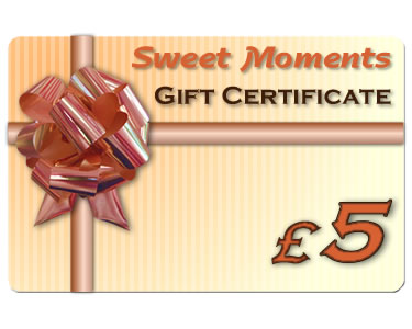 Gift Certificate £5 - Click Image to Close