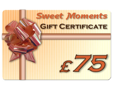 Gift Certificate £75 - Click Image to Close