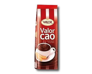 Valor Drinking Chocolate 250g - Click Image to Close
