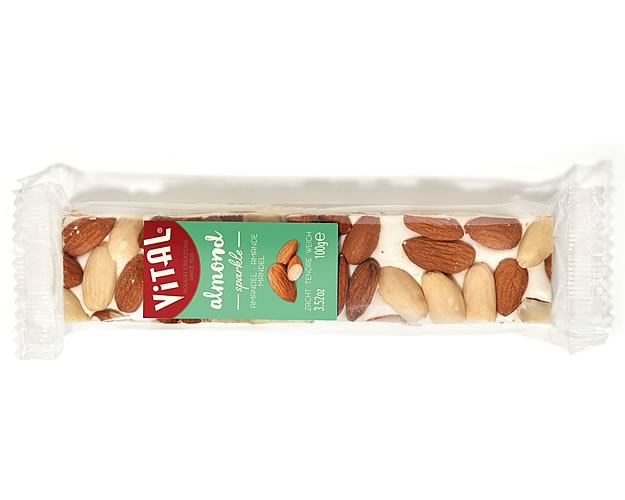 Vital Belgian Soft Nougat (Almond) 100g - Click Image to Close