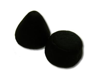 Dutch Liquorice Buttons & Cones 250g - Click Image to Close