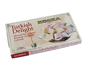 Koska Turkish Delight Mixed Flavours 500g