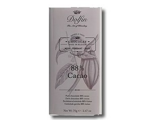 Dolfin Dark chocolate 88% cocoa (70g)