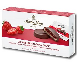 Anthon Berg Strawberry in Champagne 220g