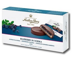 Anthon Berg Blueberry in Vodka 220g